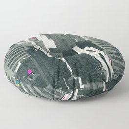 Discos in New York Floor Pillow