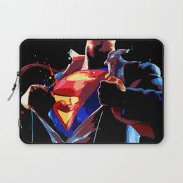 Superman - Secret Identity Laptop Sleeve