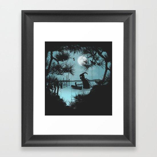 Meet Again Framed Art Print