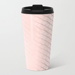 Rosegold Ribbon II Metal Travel Mug