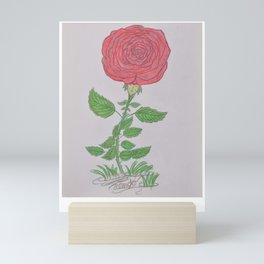 Flor De Fantasias Rose Mini Art Print