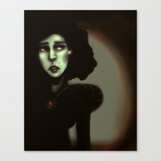Wise in Witchcraft Canvas Print