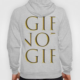 It's .gif not .gif (Trajan Gold edition) Hoody