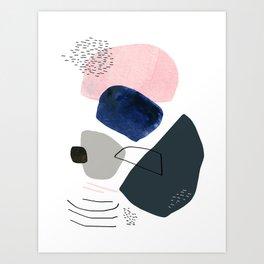Over the Ridge Art Print