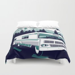 rv there yet? Duvet Cover