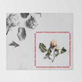 Hard Feelings/Loveless Throw Blanket