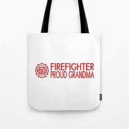 Firefighter: Proud Grandma (Florian Cross) Tote Bag