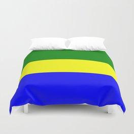 Flag of Gabon Duvet Cover