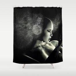 Deep Bass IV Shower Curtain