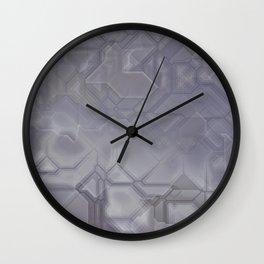 future fantasy steel Wall Clock