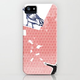 paper's bird iPhone Case