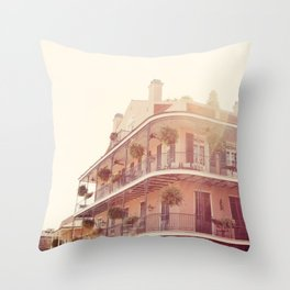 NOLA Sunlight Throw Pillow