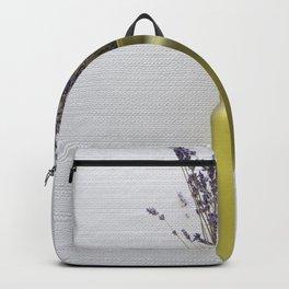 Purple Lavender Green Vase Backpack