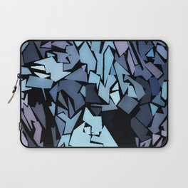 Jagged Blue Laptop Sleeve