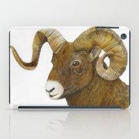 ram iPad Cases featuring Ram by Jan Elizabeth