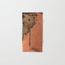 Tarnished Copper rustic decor Hand & Bath Towel
