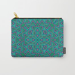 Sweet Triangles Pattern Carry-All Pouch