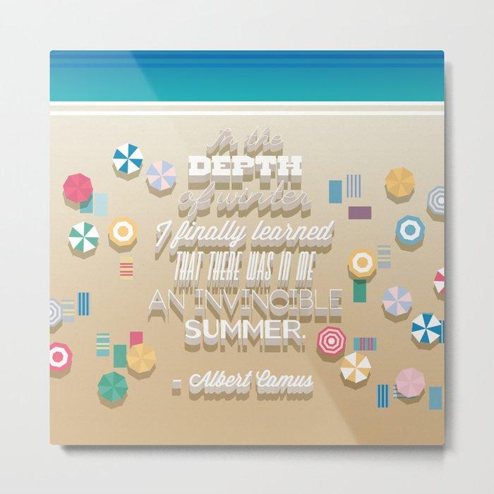 invincible summer Metal Print