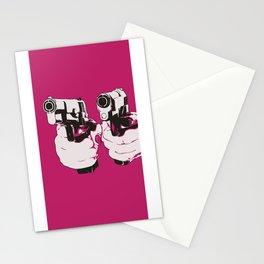 Pinkgun Stationery Cards