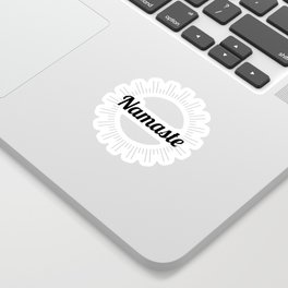 Namaste no.2 Sticker