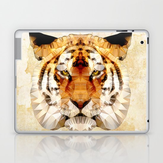 abstract tiger Laptop & iPad Skin
