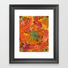 florecitas Framed Art Print