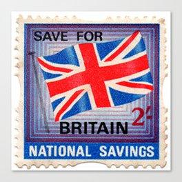British War Savings Stamps Canvas Print