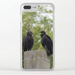 Soul Mates Clear iPhone Case