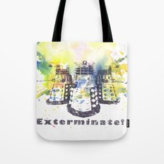 Daleks From Doctor Who Tote Bag