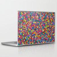 mosaic Laptop & iPad Skins featuring Mosaic by Juliana Kroscen