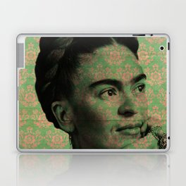 Green Frida Kahlo Laptop & iPad Skin