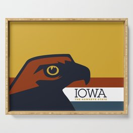 Iowa - Redesigning The States Series Serving Tray