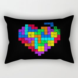 The Game of Love -Dark version Rectangular Pillow