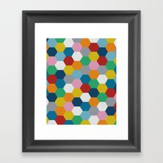 Honeycomb 2 Framed Art Print