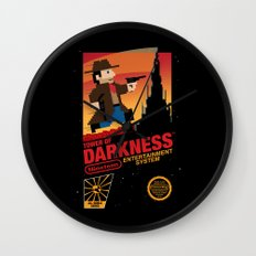Tower of Darkness Wall Clock