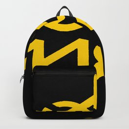 Oh Yes Awesome Typography Backpack