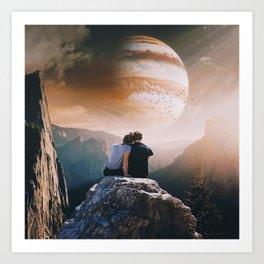 A Weird Planet Art Print