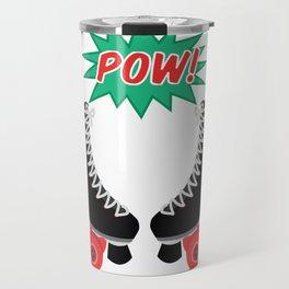 Roller Derby POW! Travel Mug