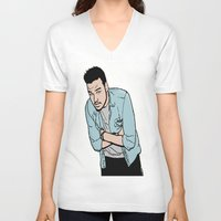 liam payne V-neck T-shirts featuring Liam Payne by 90's Class