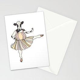 Cow Ballerina Tutu Stationery Cards