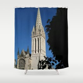 Saint Etienne Cathedral Shower Curtain