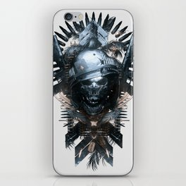 King of The Hill - White iPhone Skin