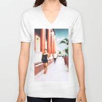 sandra dieckmann V-neck T-shirts featuring Sandra by bryantwashere