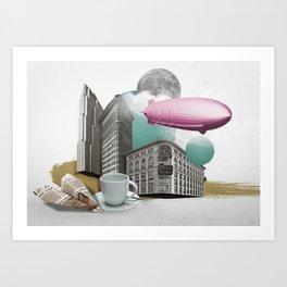 Zeppelin Art Print