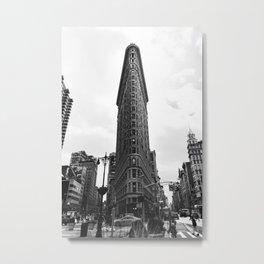 Flatiron Building. Manhattan, New York City Metal Print