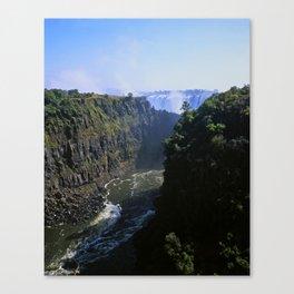 The Zambezi Gorge Canvas Print