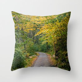 Trapps Trail Throw Pillow