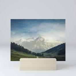 the Italian Alps - Sunlit Suretta Massif Mini Art Print