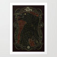 E.J.A.C Art Print