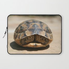 Land Turtle Hiding In Its Shell  Laptop Sleeve